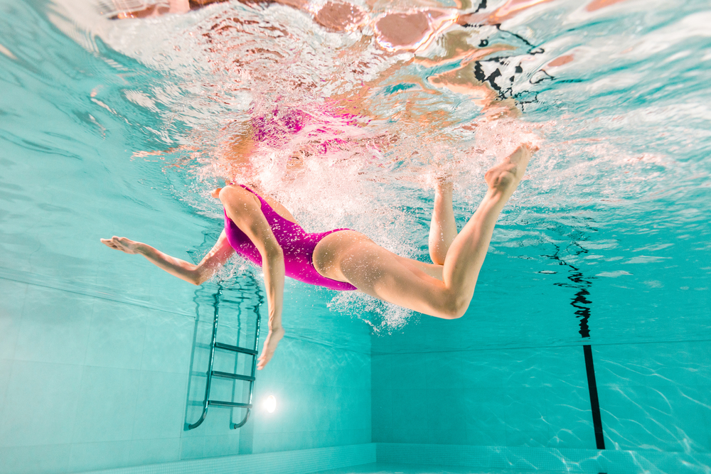 Swimming can help with scoliosis