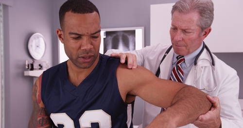 Chiropractors are trained to treat common sports injuries.